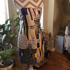 Diane von Furstenberg NWT strapless dress